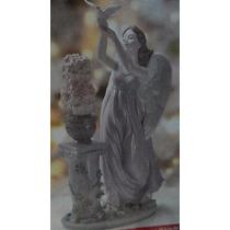 Angel De Porcelana Hecho A Mano Coleccionable