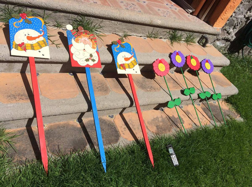 Adornos navide os para jardin en mercadolibre for Adornos de navidad para jardin