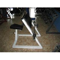 Banco Scott Sin Barra Biceps Sentado Linea Comercial Gym