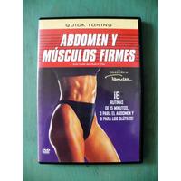 Dvd Abdomen Y Músculos Firmes Rutina De Ejercicios Tamilee