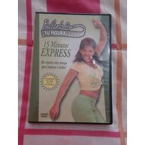 Dvd Bailando Por Tu Figura 15 Minutos Express Cardio Dance