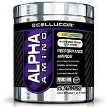 Cellucor Alfa Amino Suplemento Lima Limón Peso Neto 183g (6,
