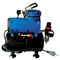 Compresor Para Aerografo Paasche D3000r 1/8 Hp