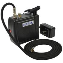 Mini Compresor Master Para Aerografo Portatil Lbf
