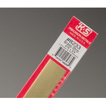 Lamina De Laton K&s Brass Strip .016x3/4 #8233