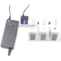 Multi Cargador De Baterías Dji Phantom 2 Y Vision 3 A La Vez