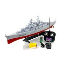 Barco De Guerra Battleship Ht-3827f Radio Control 1:360