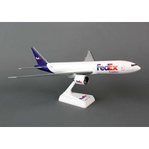 Avión Escala 1:200 Flight Miniatures Fedex 777-200