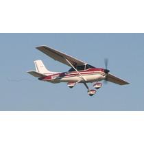 Avión Eléctrico R/c Cessna 182 Y Simulador De Vuelo 3.5