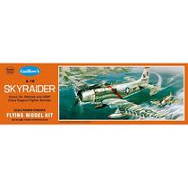 Avión De Liga, Kit Para Construir Guillows Skyraider