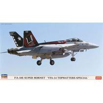 Hasegawa 00999 1/72 F/a-18e Super Hornet Vfa-14 Tophatter