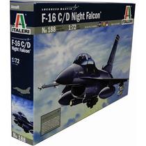 Avion Italeri F16 C D Night Falcon 1/72 Armar Pintar/ Revell