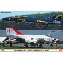 Hasegawa 01914 1/72 F-4j/f-4e Phantom Kit Combo De 2 Aviones