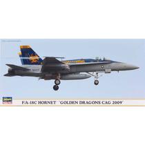 Hasegawa 01903 1/72 F/a-18c Hornet Golden Dragons Cag 09 Ltd