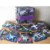Colección De 10 Libros Con Un Avion Metalico Esc. 1:144
