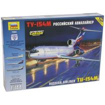 Avion Zvezda Tu 154m Ruso 1/144 Armar/ Revell Tamiya Testors