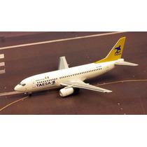 Avión Taesa Boeing 737 - 200 300 Metálico Aeroméxico