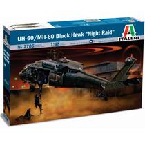 Italeri Helicoptero Uh60 / Mh60 Black Hawk 1/48 Armar Pintar