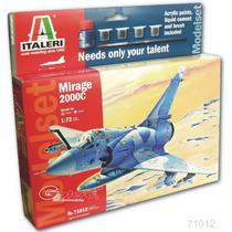 Avion Italeri Mirage 2000c 1/72 Armar Pintar C/todo / Revell