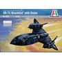 Avion Italeri Sr71 Blackbird 1/72 Armar Pintar / No Revell