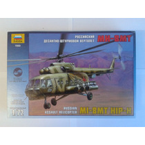 Helicoptero Mi 8 Mt Hip H Zvezda Esc 1/72 Envio Gratis