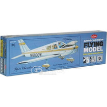 Guillows Avion Piper Cherokee P/armar Madera Balsa 1/24