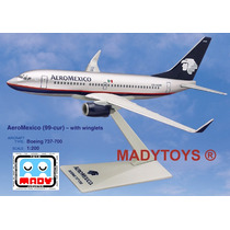 Avión Boeing 737-700 Aeroméxico Flight Miniatures Escala