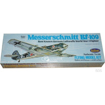 Guillows 505 Avion Messerschmitt Bf-109 Armar Madera Balsa
