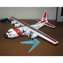 Avion Hc-130c Hercules Para Armar En Papel