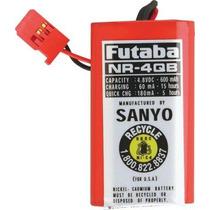Futaba Nr4qb Receiver Nicd Square 4.8v 600mahj Bateria Avion