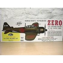 Kit Para Armar Avion Guillows 404 Wwii Zero Liga Gas Electri
