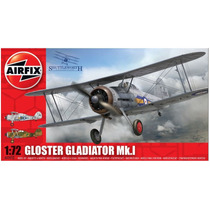Aviones Kit Modelo - Airfix 1:72 Gloster Gladiador Mk1 Raf