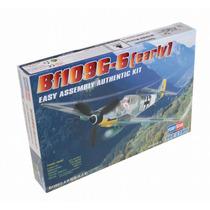 Modelo Plano - Bf109g (temprana) 1:72 Kit Hobbyboss Plástico