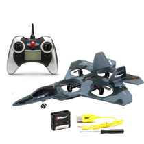 Avion Jet Fighter F22 Top Race Control Remoto - Camuflaje