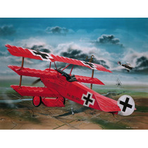 Modelo Plano - Revell 1:28 Fokker Dr.i Richthofen Barón Rojo