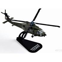 Italeri Die Cast Helicoptero Mh60k Black Hawk 1/100 C/exhib