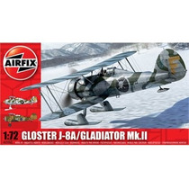 Aviones Kit Modelo - Airfix 1:72 Gloster Gladiador Mkii J8a