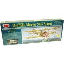 Guillows Avion Biplano Thomas Morse Scout Balsa P/armar 1/12