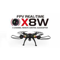 Syma X8w Drone Quadricoptero Fpv Wifi Camara Tiempo Real Hd