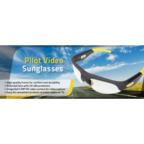 Lentes De Sol Con Video Camara Intregrada Rc Logger