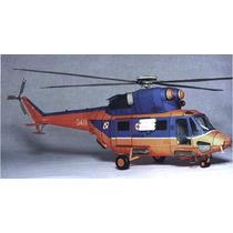 Paquete De Helicópteros (modelo Para Armar En Papel)