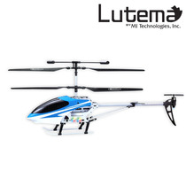 Lutema Mid-sized 3.5ch Remote Control Helicopter - Blue