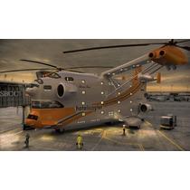 Helicoptero De La Real Fuerza Aerea Del Canada Tipo S.a.r.