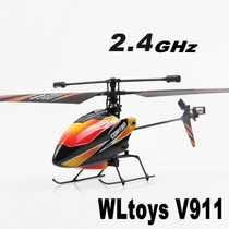 Wltoys V911 2.4ghz De 4 Canales Gyro Helicóptero De Control