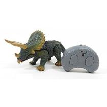 Remoto Dinosaurio Triceratops Control De Infrarrojos Rc Con