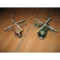 Helicopteros De Guerra De Plastico Para Jugar !!!!!!!!!!!!!!