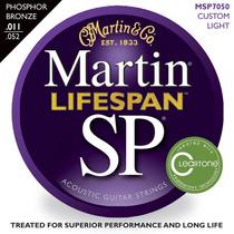Martin Lifespan Msp7050 Cuerdas Custom Light Guitarra