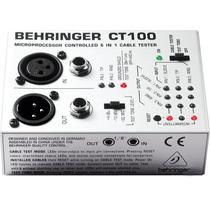 Probador De Cables De Señal Behringer Ct100