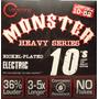 Cleartone Monster Cuerdas 10-52 Guitarra Mustaine Dhl Gratis