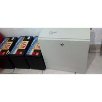 Gabinete, Caja Para Baterías Alumbrado Publico Solar
